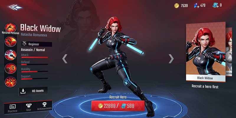 MSW Black Widow - Skin Default