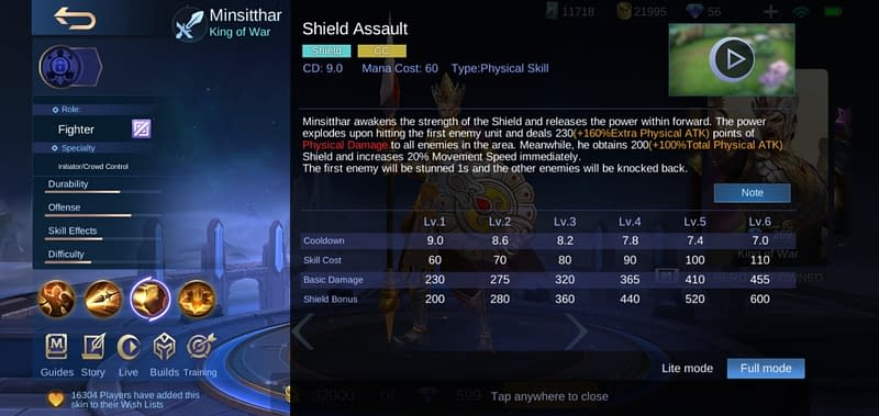 MLBB Minsitthar - Shield Assault