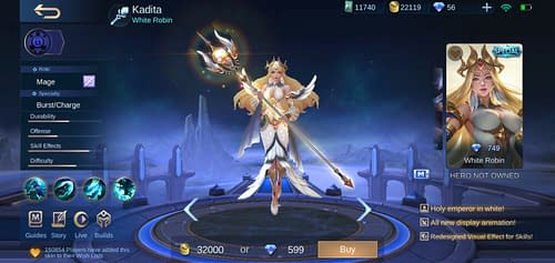 Mobile Legends Bang Bang  Hero Guide Mage Terbaru Kadita
