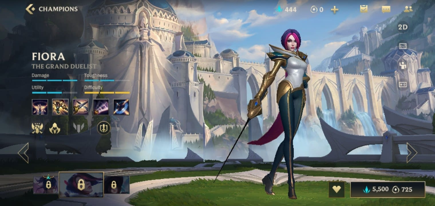 LOLWR Fiora - The Grand Duelist