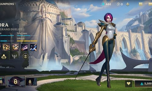 Guide Terbaru League of Legends Wild Rift untuk Hero Fiora