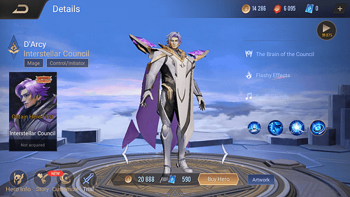 Arena of Valor Mage Hero Guide Skill & Item D'Arcy