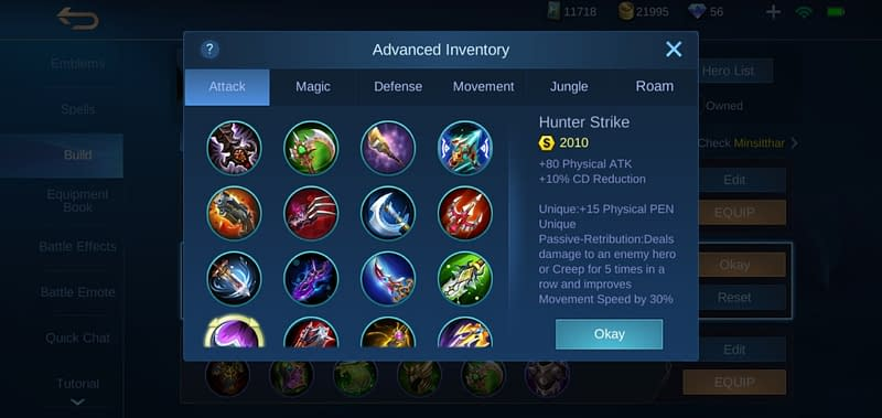 MLBB Minsitthar - Hunter Strike