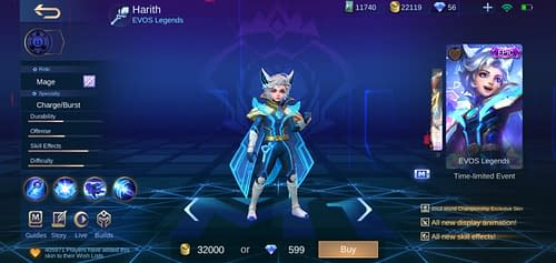 Mobile Legends Bang Bang  Hero Guide Mage Terbaru Harith